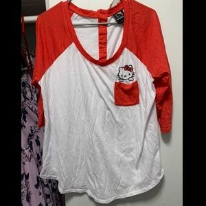 Torrid size 0 Hello Kitty Shirt